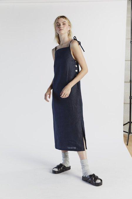 hej hej Lazy Luxe Dress - Indigo