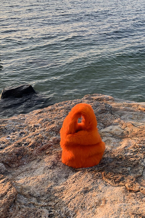 Alyson Eastman Bunny Bag - Orange