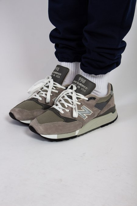 New Balance Made In US 998 Bringback Sneaker - Grey