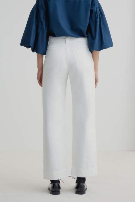 Kowtow Carpenter Jeans - Ecru