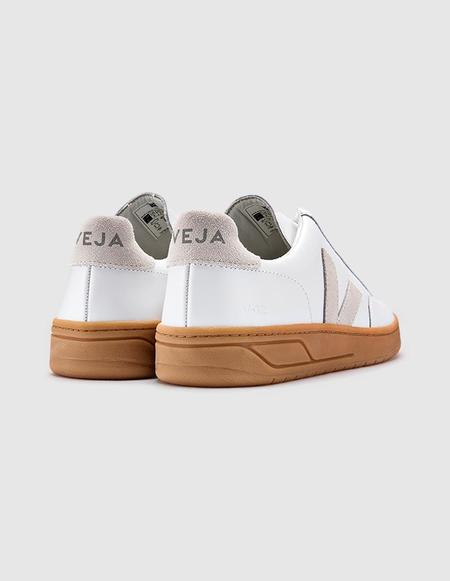 VEJA V-12 Leather Sneaker - Extra White