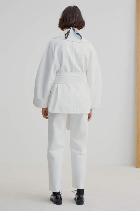 Kowtow Format Jacket - Ecru Denim