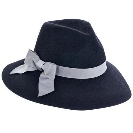 Brooklyn Hat Co. Jillian Wool Felt Fedora - Black