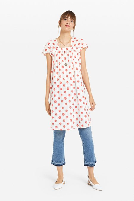 Ottod'Ame Polka Dot Dress