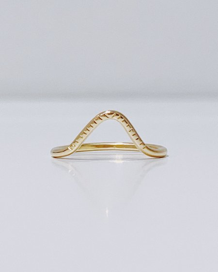 Gem & Blue Peak Notch Ring