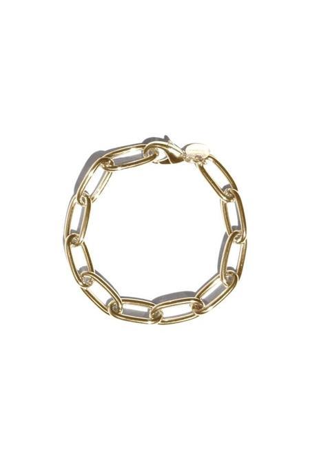 Young Frankk Classic Chain Bracelet - Gold