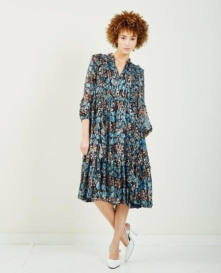 Ulla Johnson Seraphina Dress - Indigo Blue Floral