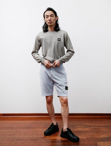 Stone Island Fleece Shorts - Sky Blue