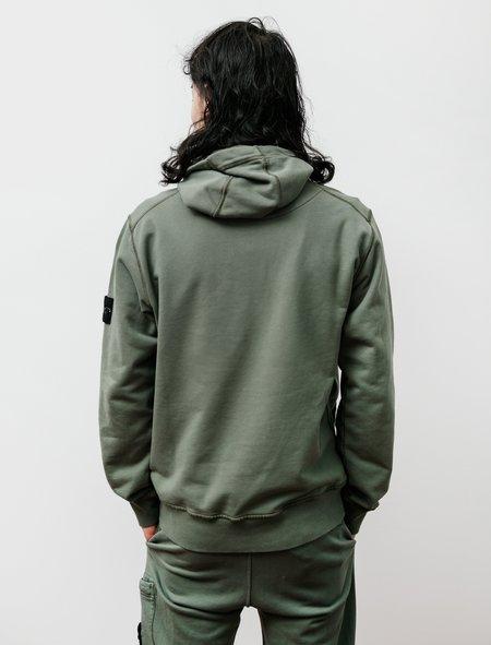 Stone Island Hooded Sweatshirt - Olive