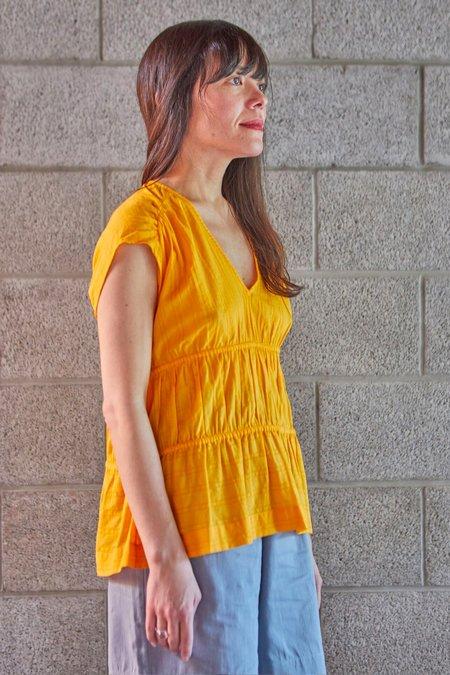 M.Patmos Lotus Dobby Shirt - Marigold