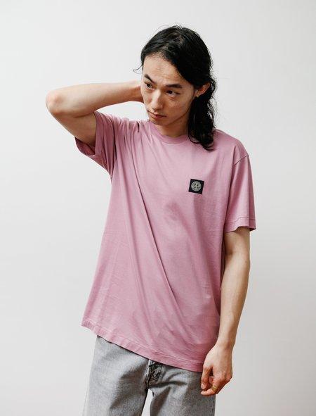 Stone Island T Shirt - Rose Quartz