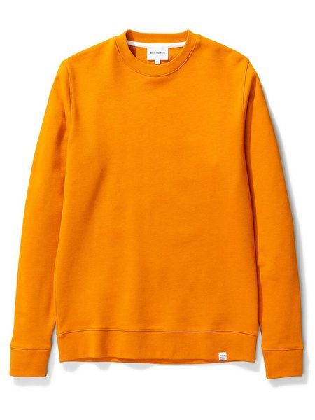 Norse Projects Vagn Sweater - Cadmium Orange