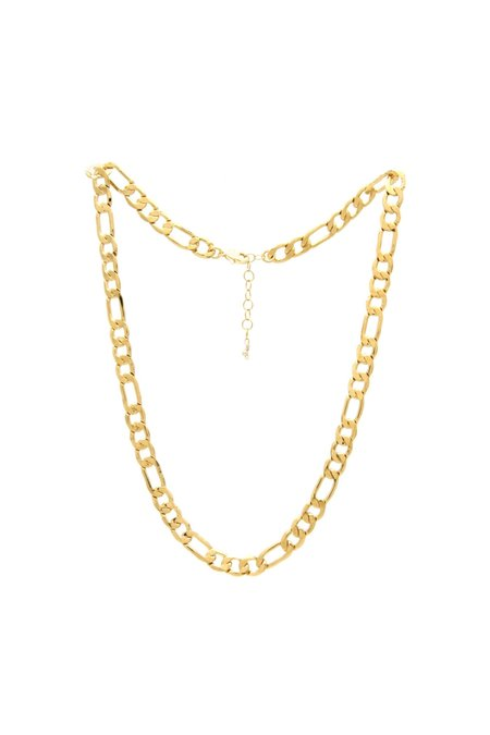 Jurate Brown Bonnie Necklace - Gold