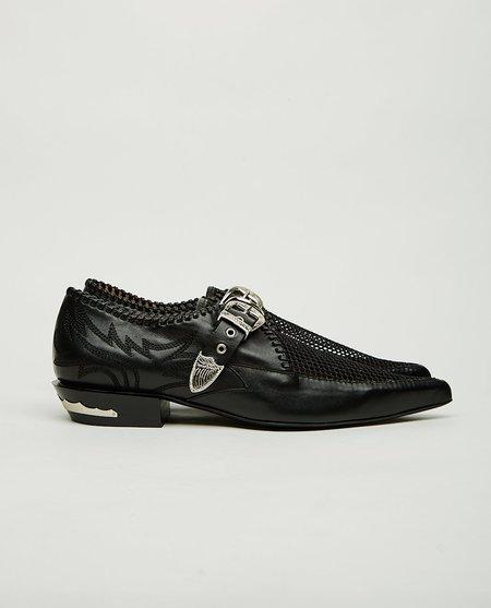 Toga Pulla Western Mesh Loafer - Black