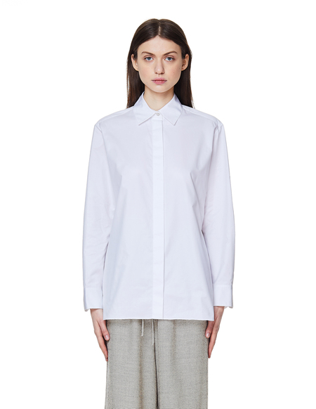The Row Cotton Freedom Embroidered Shirt