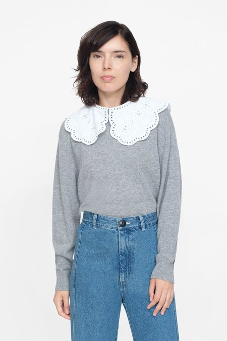 Sea, New York Zippy Lace Collar