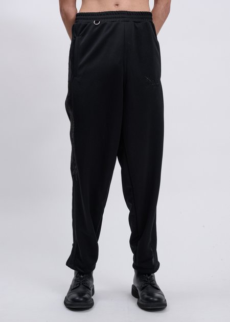 Doublet Chaos Embroidery Track Pants - Black