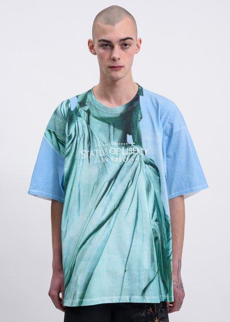 Doublet Liberty Faceout Tourist T-Shirt - Multi