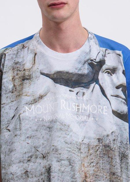 Doublet Rushmore Faceout Tourist T-Shirt - Multi