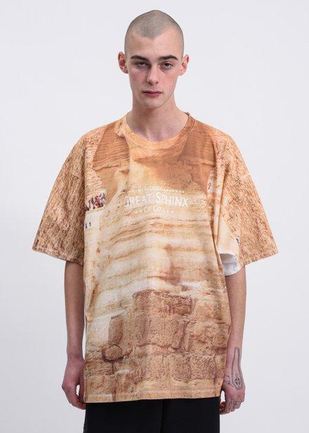 Doublet Sphinx Faceout Tourist T-Shirt - Beige