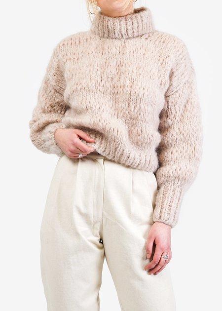 Frisson Knits Isabella Sweater - Buff