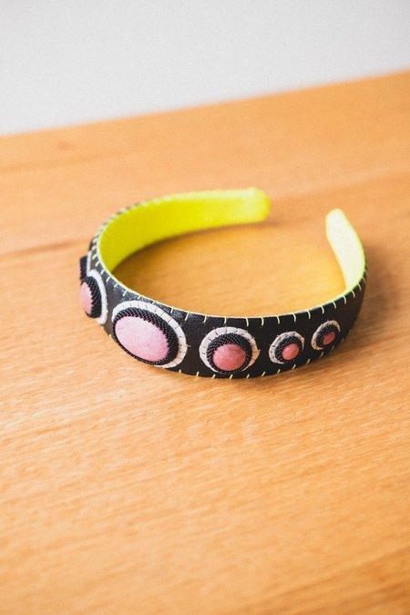 Robin Mollicone Black Rhodonite Headband