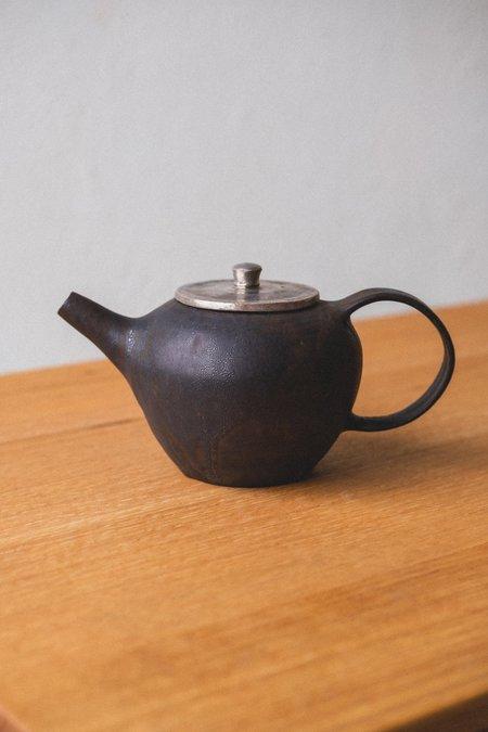 RYUTA FUKUMURA CERAMIC TEA POT - Black