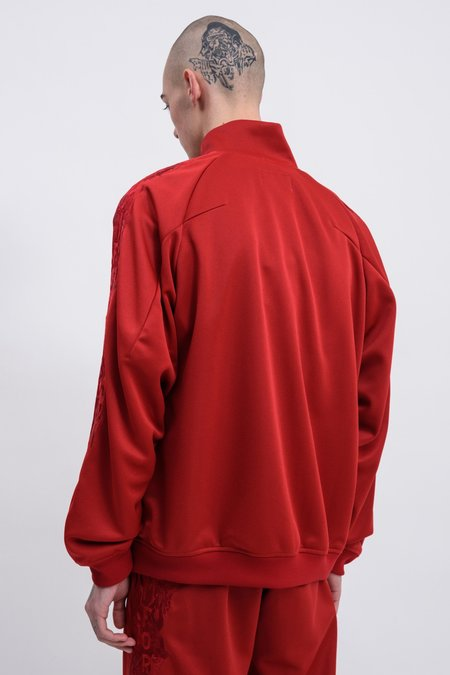 Doublet Chaos Embroidery Track Jacket - Red