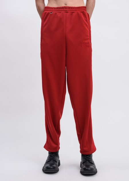 Doublet Chaos Embroidery Track Pants - Red