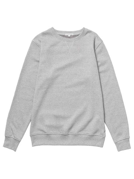 Richer Poorer Fleece Sweatshirt - Heather Grey