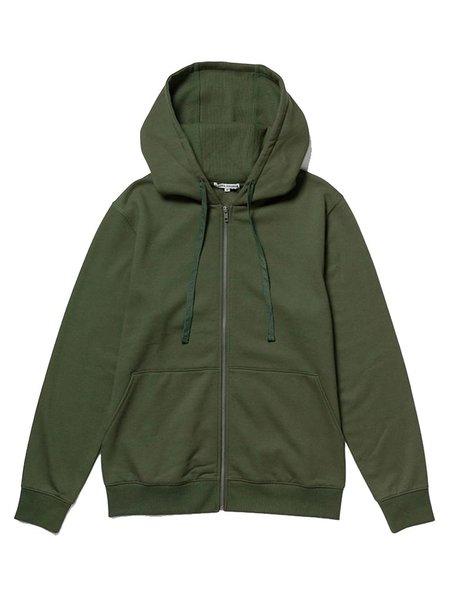 Richer Poorer Fleece Zip Hoodie - Ivy