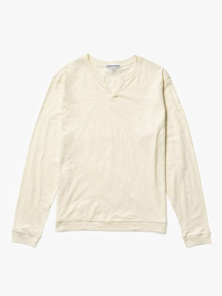 Richer Poorer Modern Henley - Cream