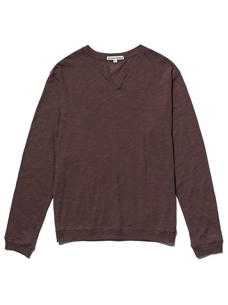 Richer Poorer Modern Henley - Java