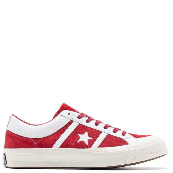 Converse One Star Academy Ivy League Suede Shoe Rumba Red on Garmentory