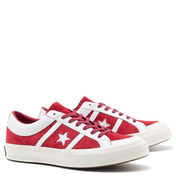 Converse One Star Academy Ivy League Suede Shoe Rumba Red