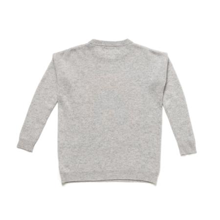 Kerri Rosenthal on Martha's VIneyard Follow Your Rainbow Pullover - Gray
