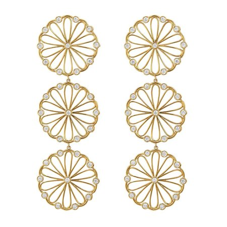 Asha Palma Earring - 14K Gold Vermeil