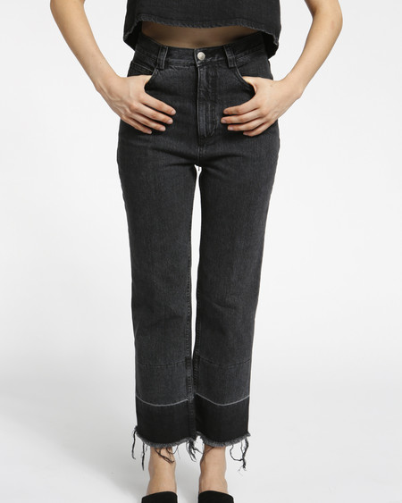 Rachel Comey Slim Legion Denim Pant - Black