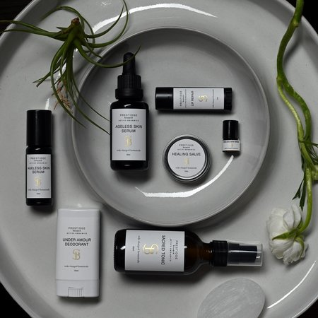 Prestidge Beaute Active Organics PbAO Essentials Collection
