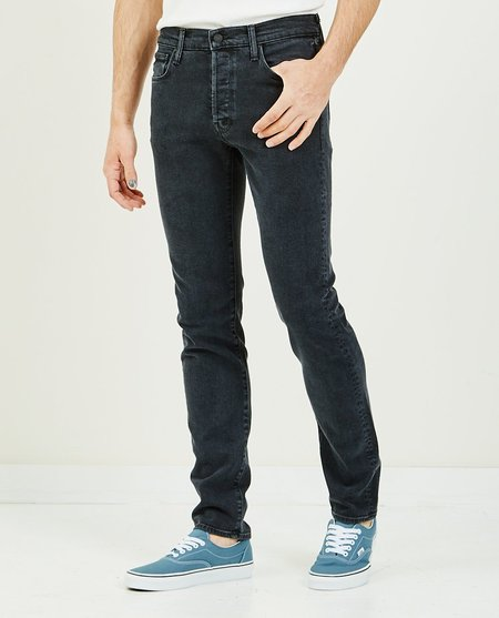 Mother Denim The Neat Jean The Soul Taker - Charcoal