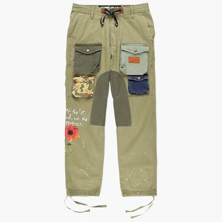 Billionaire Boys Club Shades Cargo Pants - Loden Green