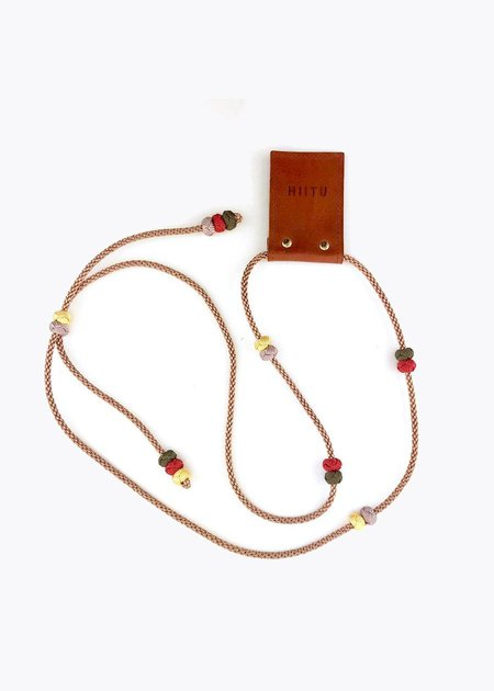 Hiitu Phone Necklace - Bronze Multi