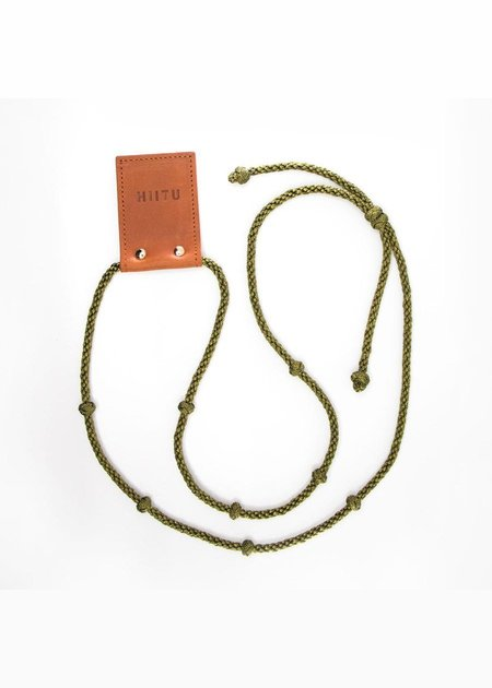 Hiitu Phone Necklace - Metallic Green