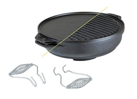 Lodge Cast Iron Cast Iron Cook-It-All