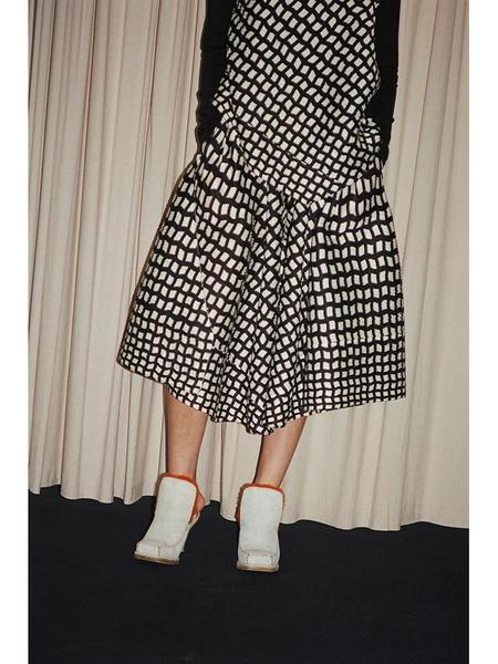 Issey Miyake Steps Gaucho Trouser - Black/White