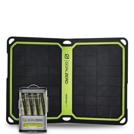 Goal Zero Guide 10 Plus + Nomad 7 Plus Solar Panel Kit