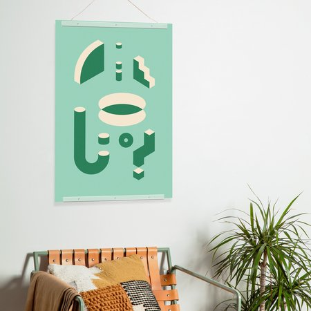 Poketo Isometric Print