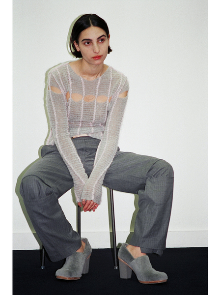 Eckhaus Latta Peaking Sweater - Poodle