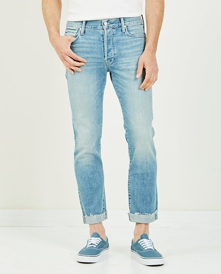 Mother Denim The Neat Cuff Ankle Fray - Light