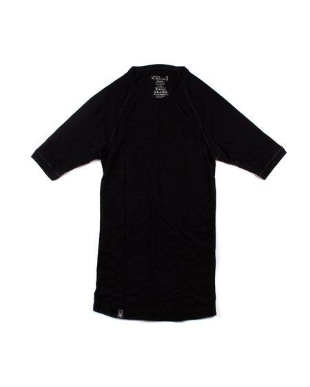 Ibex Woolies 1 Short Sleeve Shirt - Black